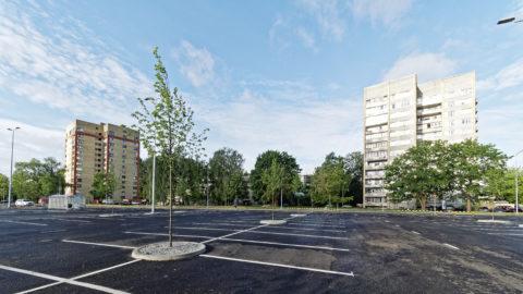 Bild: Ķengarags ist nicht gerade der prätentiöseste Stadtteil von Rīga. Abgesehen von der guten Anbindung an das Stadtzentrum und der Nähe zur Daugava ist dieser Stadtteil eher durch Tristesse geprägt.