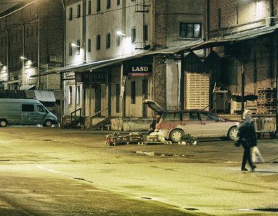 Fototour: Rīga – Ein wenig verlassen – Unterwegs auf dem Nachtmarkt – dem Zemnieku tirgus – in der Spīķeru iela am Zentralmarkt