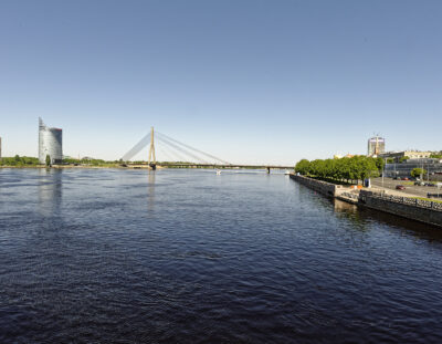 Infrastructure: Rīga –  Bridges over the Daugava – The Vanšu tilts