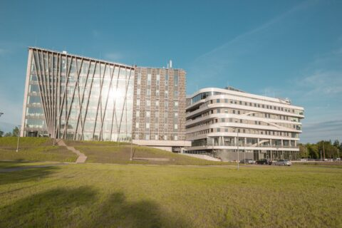 Image: The new campus of the LU in Rīgā. Double click on the image to enlarge.